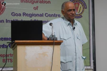 Keynote address by Prof. Man Mohan Sharma