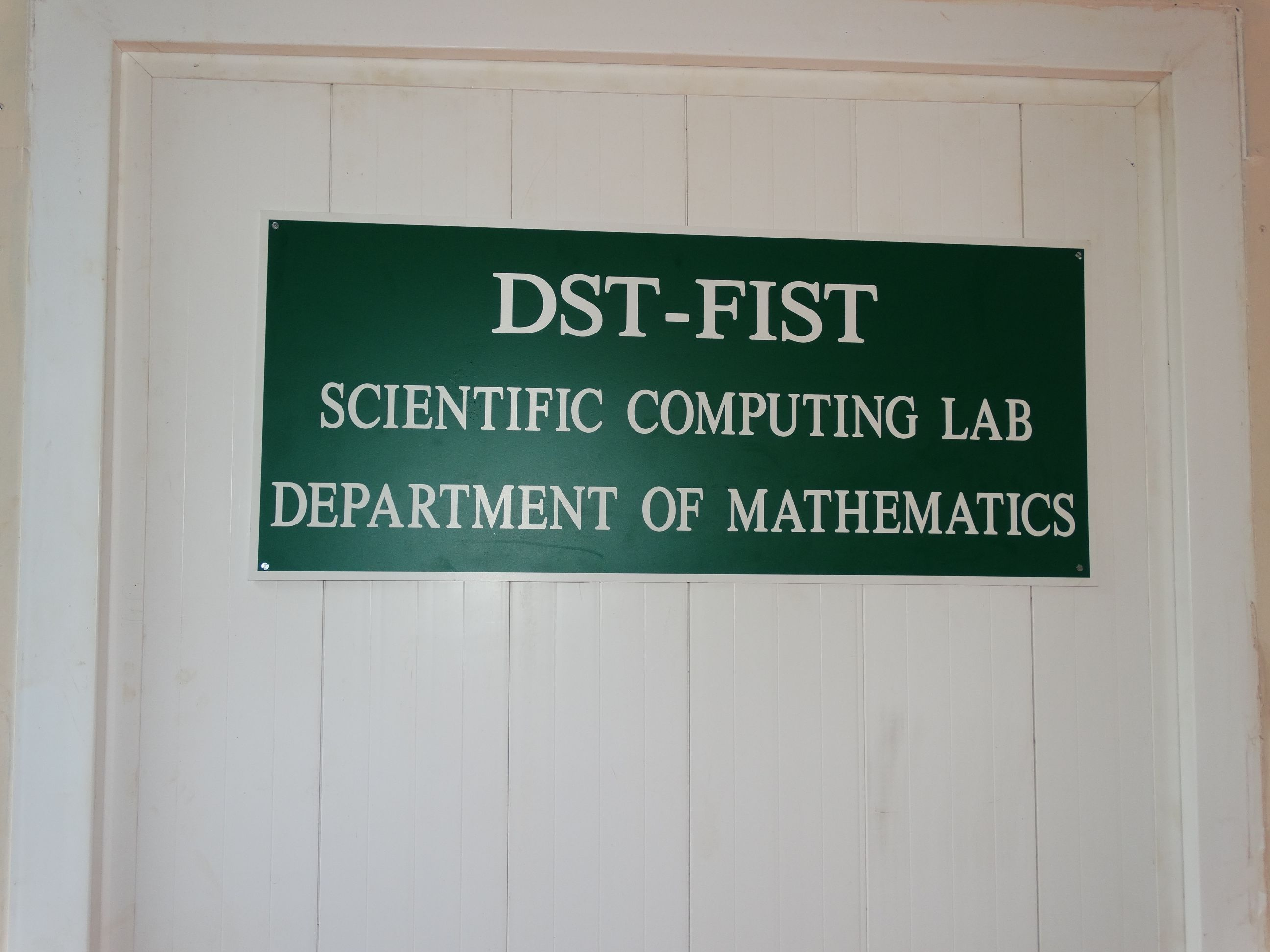 Scientific Computing Lab Inauguration